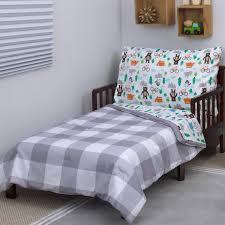 s woodland boy 4 toddler bedding set reviews wayfair