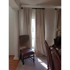 Blackout Drapery Fabric Exclusive Fabrics Cottage Off White Bellino Single Panel Blackout