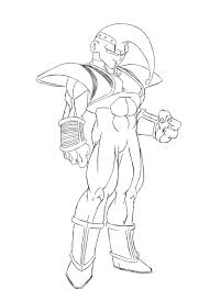dragon ball z goku coloring pages cool free goku trunks coloring