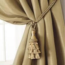 Diy Curtain Tiebacks Appealing Curtain Tiebacks Picture Ideas Image Of Diy Tie Back And