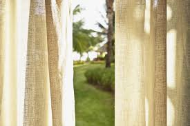 Cindy Crawford Curtains by Bamboo Window Panels Curtains Panel Curtains Banded Bamboo Window
