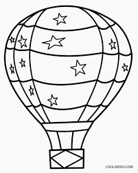 air balloon coloring pages air balloon air ballooncoloringpages