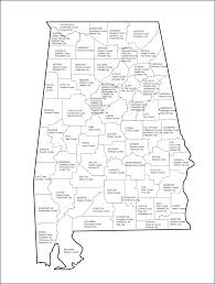 County Map Of Alabama Alabama State Department Of Education Alsde