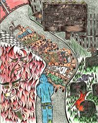 doodle inferno connecticut inmates emerge from dante s inferno wnpr news