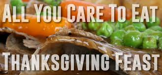 upcoming events thanksgiving day buffet the bonfire restaurant