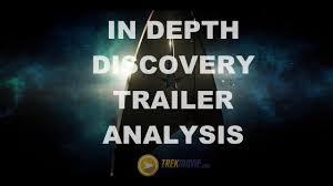 in depth analysis of star trek discovery trailer youtube