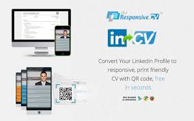 Linkedin Resume Builder Make A Resume From Linkedin Through Responsive Cv Instantly Free
