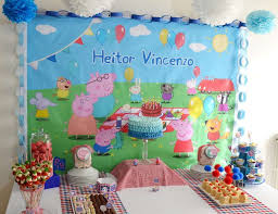 peppa pig decorations peppa pig party ideas for a boy birthday catch my party