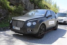 bentley suv 2014 bentley suv spied testing automobile magazine