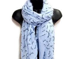 light blue scarf etsy