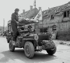army jeep ww2 an ambulance jeep of the royal canadian army medical corps