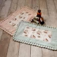 tappeto blanc mariclo tappeto bagno rettangolare serie shabby blanc maricl祺 variante