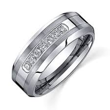 mens black wedding band men s wedding bands groom wedding rings for less overstock