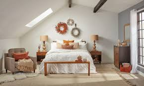 how to cozy up your bedroom for fall overstock com