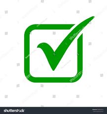 Green Color Green Check Mark Icon Box Tick Stock Vector 536858419 Shutterstock