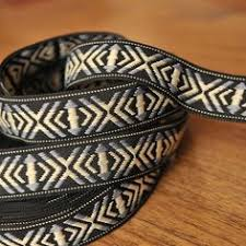 aztec ribbon details about neotrims wide indian decorative aztec style metallic