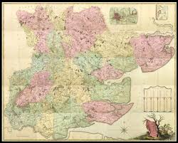 Essex England Map by The Finest Large Scale Map Of Essex Maps Daniel Crouch Rare Books
