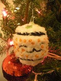 baby carrots felt christmas ornaments by lilseamonster on etsy