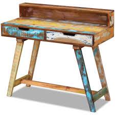 vintage wood desk solid wood vintage retro desks u0026 computer furniture ebay