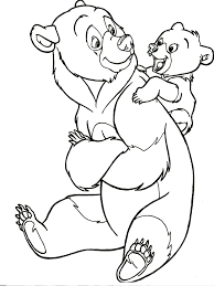 brother bear coloring pages brother bear coloring pages to
