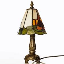 Small Table Lamps For Bedroom by Lighting Appealing Tiffany Hexagonal Small Table Lamp With Dark