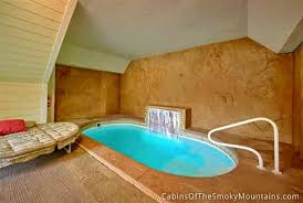 swimming pool room gatlinburg cabins with indoor private pools