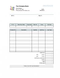 contract employee invoice format labor template free contractor