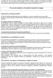 mondial assistance si e social mondial assistance pour ipac 64 contrat n convention d assistance pdf