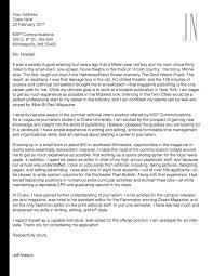 inspirational cover letter for magazine internship 37 for your