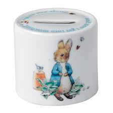 wedgewood rabbit rabbit boy s money box wedgwood us