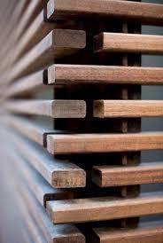 ipe wooden slats screening detail détail architecture