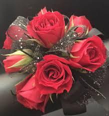 Red Rose Wrist Corsage Ballard Blossom Inc Ravishing Red Wrist Corsage Seattle Wa 98107