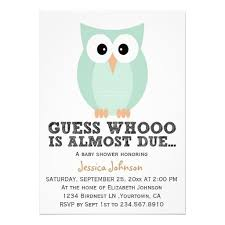 249 best owl baby shower invitations images on pinterest baby