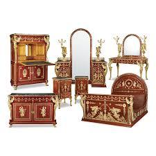 antique furniture for sale m s rau antiques egyptian king farouk empire bedroom suite