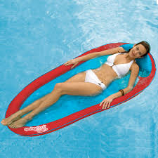 Swimways Baby Spring Float Sun Canopy Blue by Spring Float Water Hammock