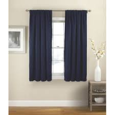 How To Make Drapery Panels With Lining Blue Curtains U0026 Drapes You U0027ll Love Wayfair