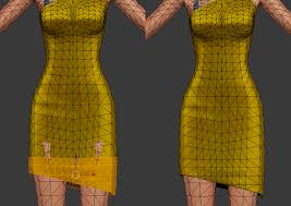 dress weights how to lenghten the dress make it asymmetric sims 4 studio