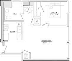 650 Square Feet Floor Plan Floor Plans Of Madox In Jersey City Nj