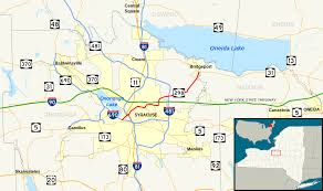 Syracuse Map New York State Route 298 Wikipedia