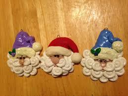 handmade clay santa tutorial craft e corner blog