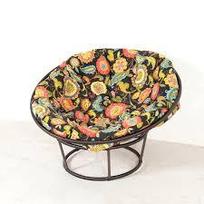 decorating charming chair with pretty chair cushion rattan chair using bohemian fl chair cushion for home