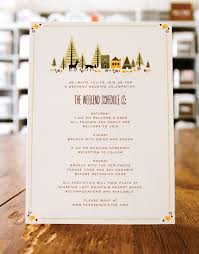 wedding stationery wedding stationery inspiration day of itineraries