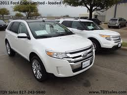 dodge jeep white for sale 2011 ford edge limited edition white platinum metallic