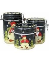 black kitchen canister set black kitchen canisters sales deals