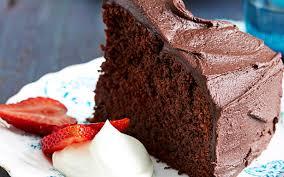 rich chocolate fudge cake recipe food to love