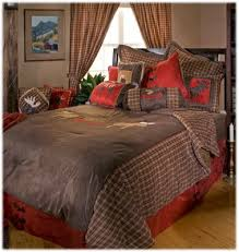 moose plaid bedding collection comforter set bass pro shops