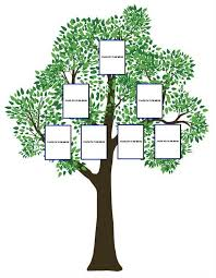 family tree craft template ideas family guide to