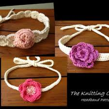 crochet baby headband shop crochet baby headband pattern on wanelo