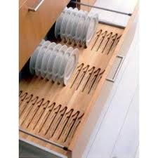 Kitchen Cabinet Plate Rack Storage Blum Grass Plate Rack Drawer Insert Solid Beech Vertical Plate