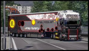 scania truck scania truck show r2009 trailer skin modhub us